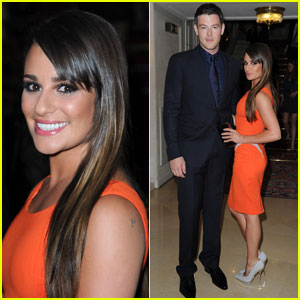 Lea Michele &#038; Cory Monteith: Versace Show!